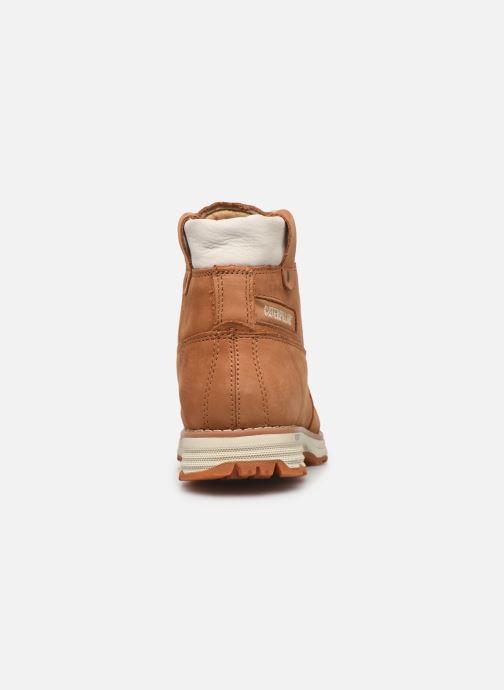 Bottines et boots Caterpillar Charli Marron vue droite