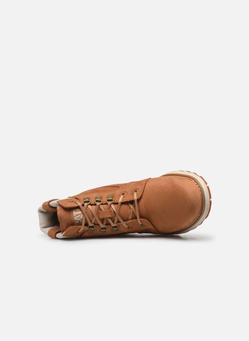 Bottines et boots Caterpillar Charli Marron vue gauche