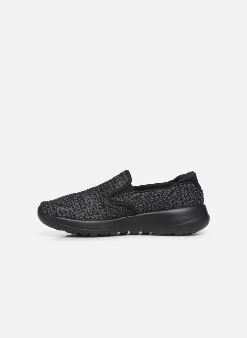 Sneakers Skechers Go Walk Joy Zwart voorkant