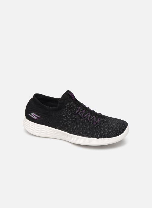 Sneakers Skechers You Define - Beauty Sort detaljeret billede af skoene