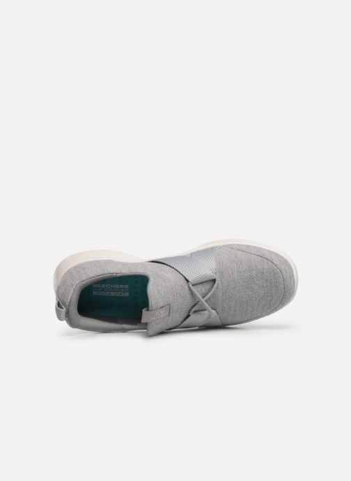 Trainers Skechers Serene/Poised Grey view from the left