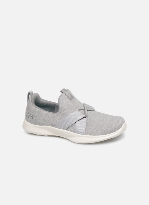 Trainers Skechers Serene/Poised Grey detailed view/ Pair view