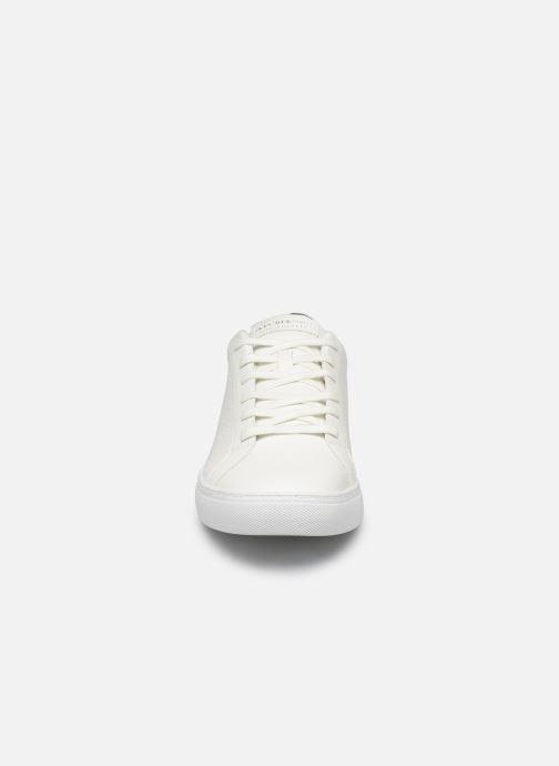 Baskets Skechers Side Street- Exi Blanc vue portées chaussures