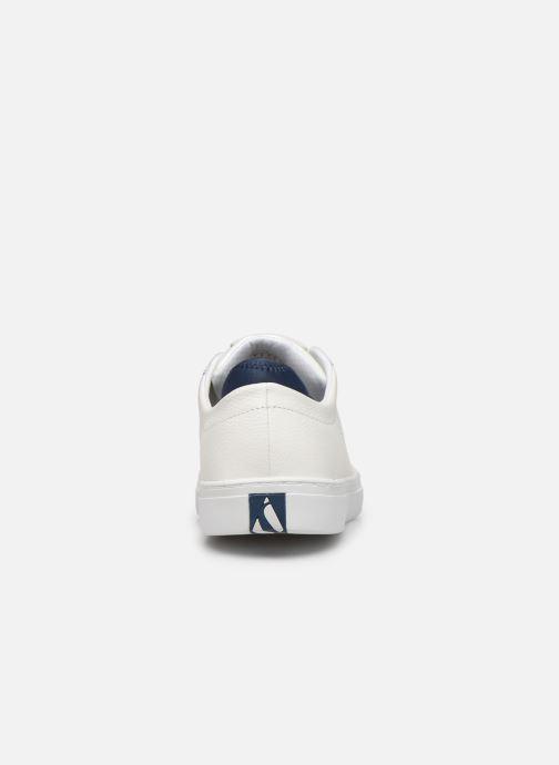 Baskets Skechers Side Street- Exi Blanc vue droite