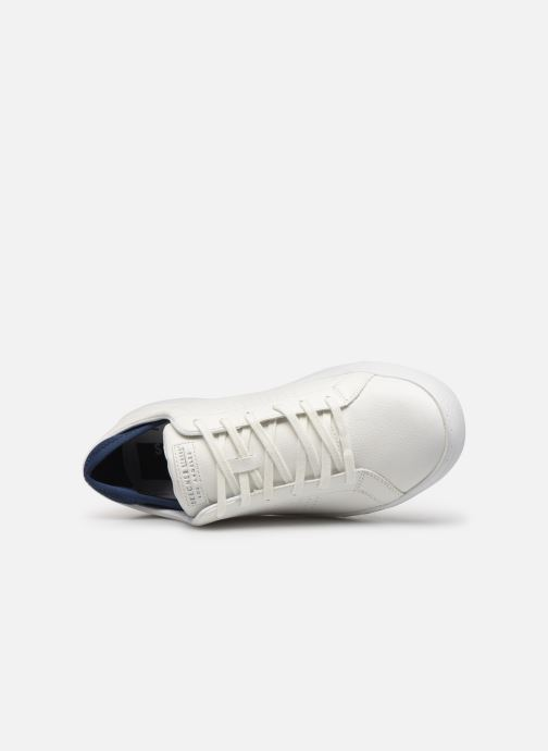 Baskets Skechers Side Street- Exi Blanc vue gauche