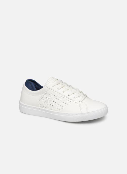 Baskets Skechers Side Street- Exi Blanc vue détail/paire