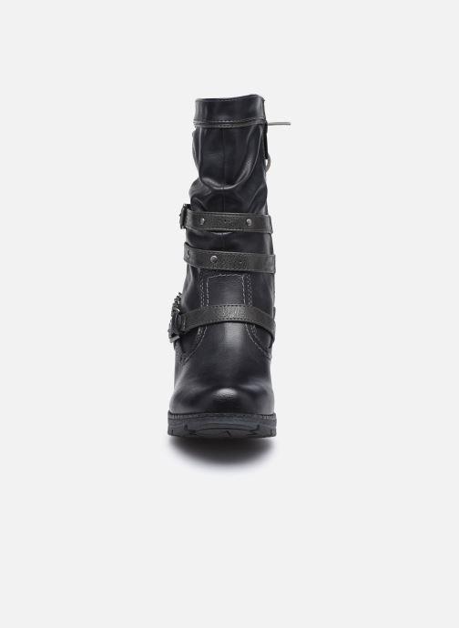 Bottines et boots Mustang shoes Vamon Bleu vue portées chaussures