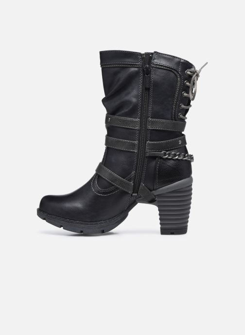 Boots en enkellaarsjes Mustang shoes Vamon Blauw voorkant