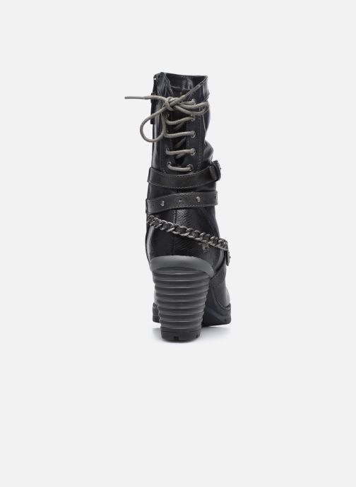 Bottines et boots Mustang shoes Vamon Bleu vue droite