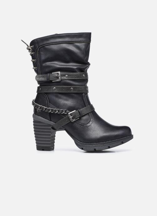Boots en enkellaarsjes Mustang shoes Vamon Blauw achterkant