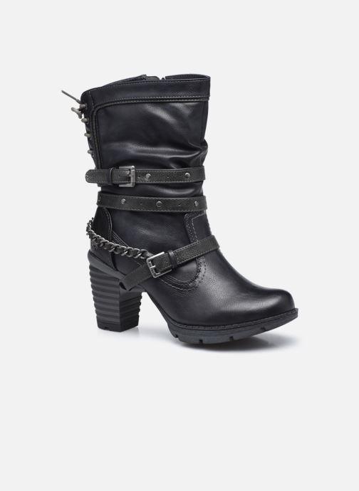 Bottines et boots Mustang shoes Vamon Bleu vue détail/paire
