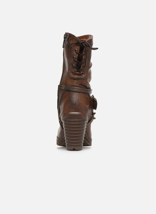 Ankle boots Mustang shoes Vamon Brown view from the right