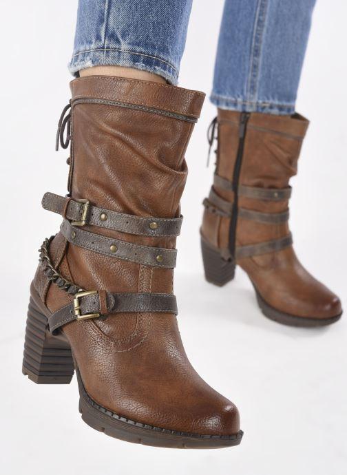 Stiefeletten & Boots Mustang shoes Vamon braun ansicht von unten / tasche getragen