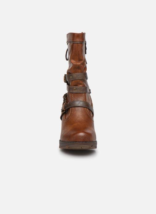 Stiefeletten & Boots Mustang shoes Vamon braun schuhe getragen
