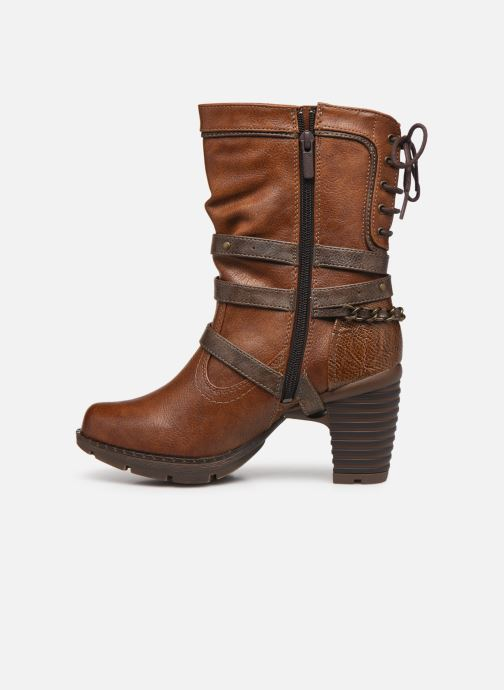 Bottines et boots Mustang shoes Vamon Marron vue face