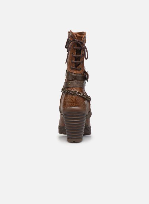 Stiefeletten & Boots Mustang shoes Vamon braun ansicht von rechts