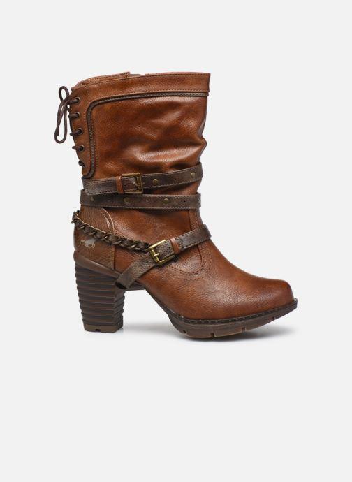Stiefeletten & Boots Mustang shoes Vamon braun ansicht von hinten