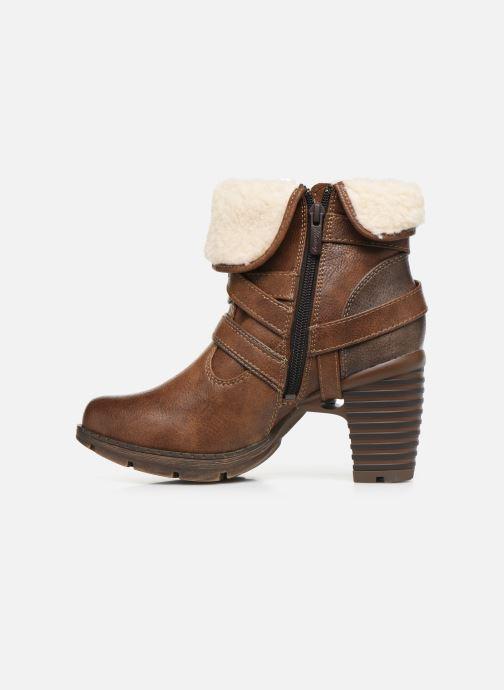 Bottines et boots Mustang shoes Joyka Marron vue face