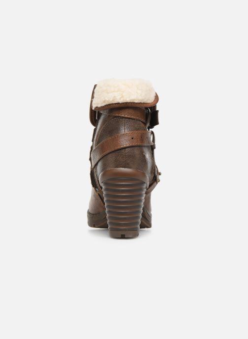 Bottines et boots Mustang shoes Joyka Marron vue droite
