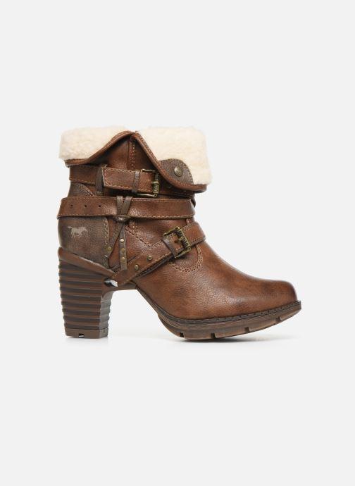 Bottines et boots Mustang shoes Joyka Marron vue derrière