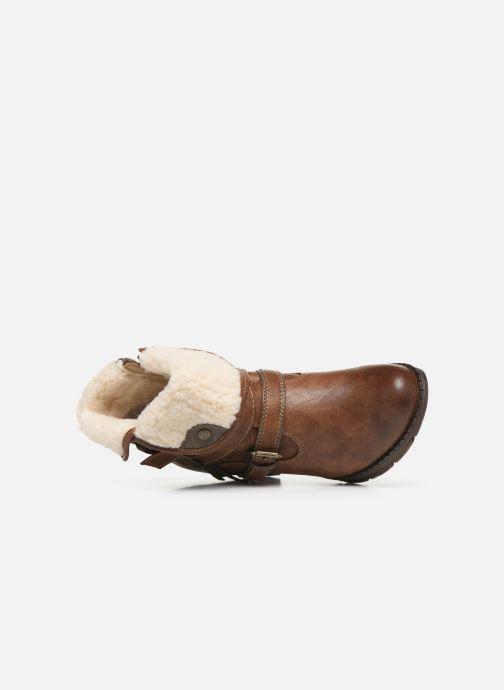 Bottines et boots Mustang shoes Joyka Marron vue gauche