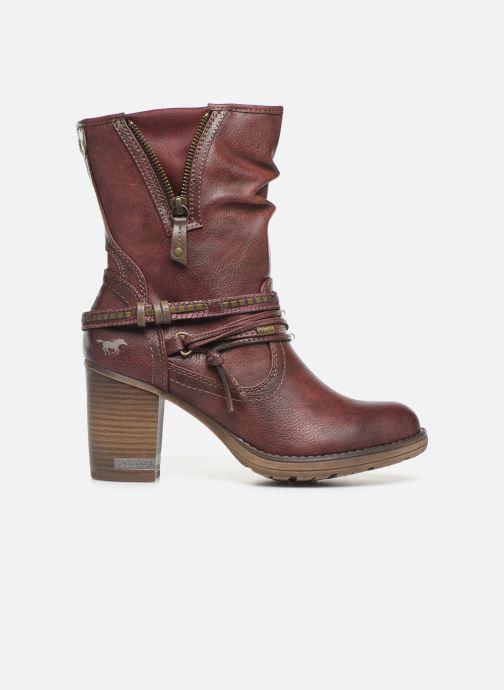 Bottines et boots Mustang shoes Colza Bordeaux vue derrière