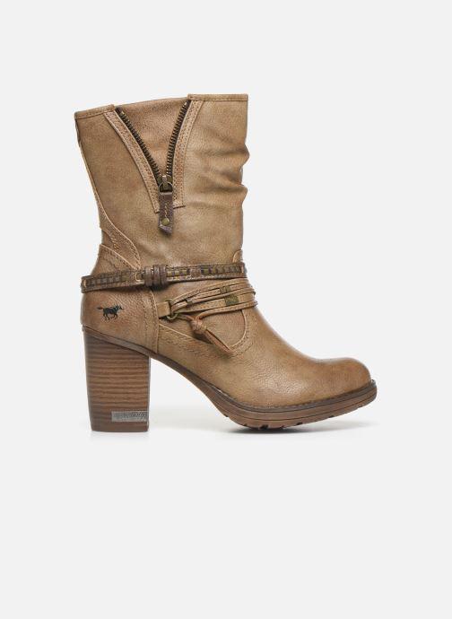 Boots en enkellaarsjes Mustang shoes Colza Bruin achterkant