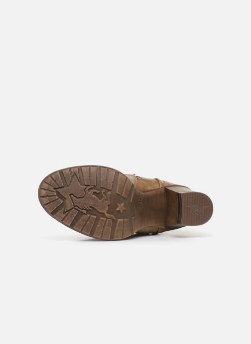 Bottines et boots Mustang shoes Colza Marron vue haut