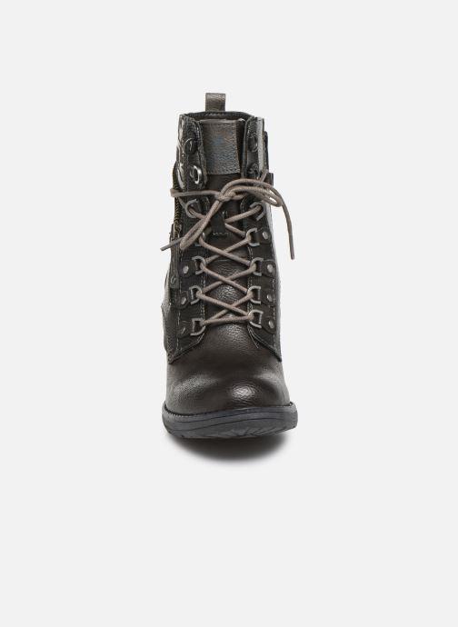 Boots en enkellaarsjes Mustang shoes Iride Bruin model
