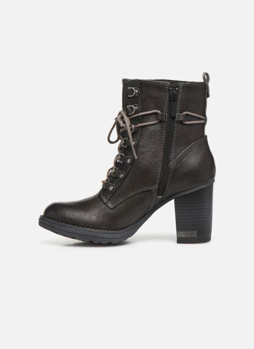Boots en enkellaarsjes Mustang shoes Iride Bruin voorkant