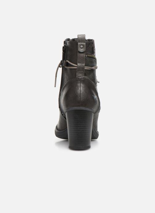 Boots en enkellaarsjes Mustang shoes Iride Bruin rechts