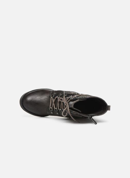 Boots en enkellaarsjes Mustang shoes Iride Bruin links