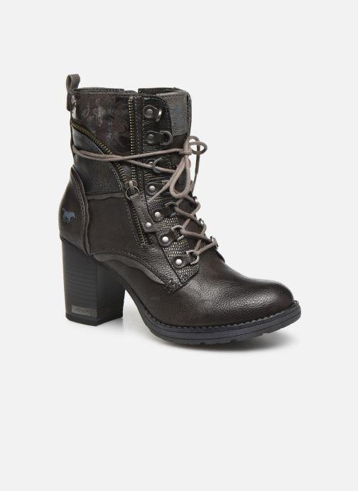 Boots en enkellaarsjes Mustang shoes Iride Bruin detail