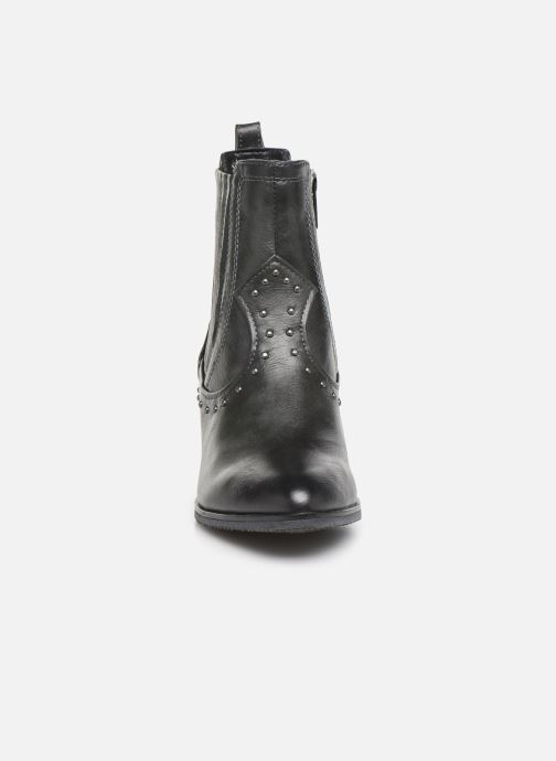 Bottines et boots Mustang shoes Clairis Gris vue portées chaussures
