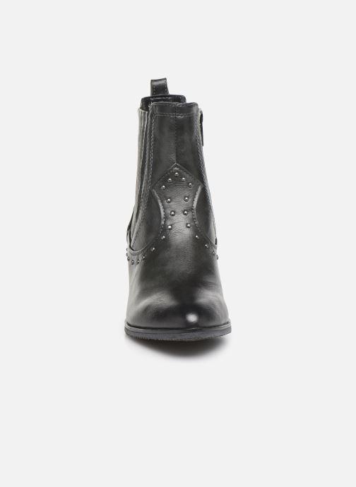 Stivaletti e tronchetti Mustang shoes Clairis Grigio modello indossato