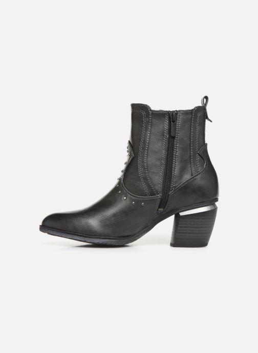 Boots en enkellaarsjes Mustang shoes Clairis Grijs voorkant