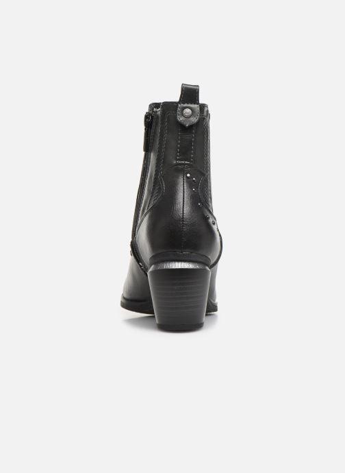 Boots en enkellaarsjes Mustang shoes Clairis Grijs rechts