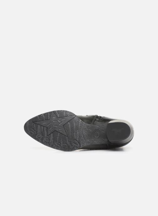 Bottines et boots Mustang shoes Clairis Gris vue haut