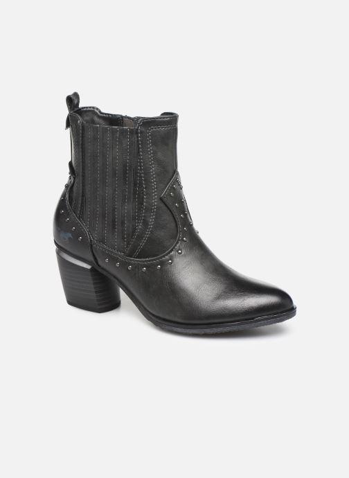 Bottines et boots Mustang shoes Clairis Gris vue détail/paire