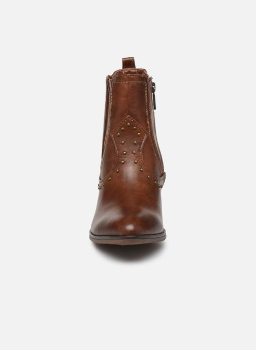 Ankle boots Mustang shoes Clairis Brown model view