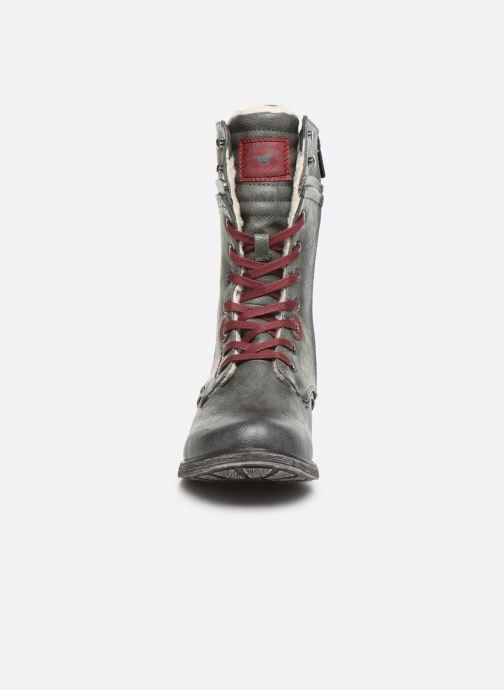 Bottines et boots Mustang shoes Imaben Gris vue portées chaussures