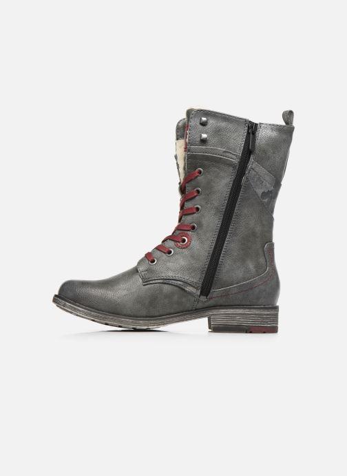 Bottines et boots Mustang shoes Imaben Gris vue face