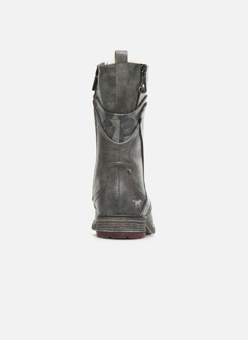 Bottines et boots Mustang shoes Imaben Gris vue droite