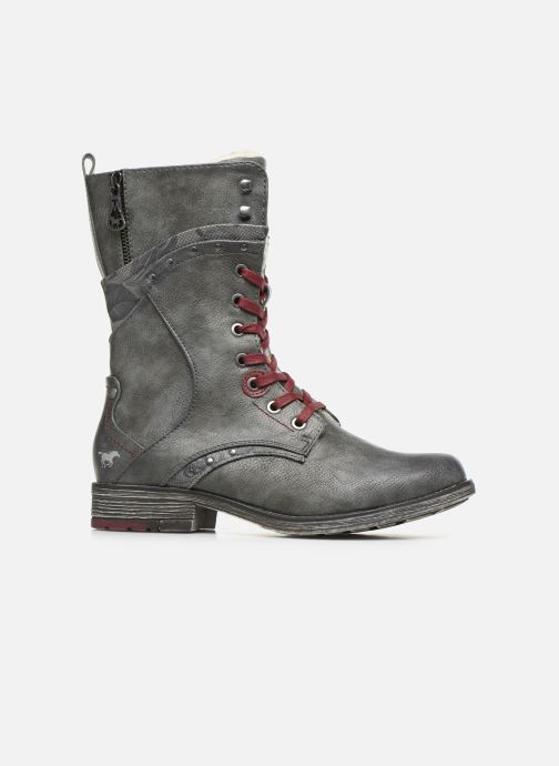Boots en enkellaarsjes Mustang shoes Imaben Grijs achterkant