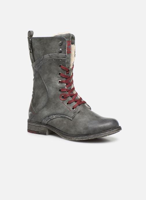 Boots en enkellaarsjes Mustang shoes Imaben Grijs detail