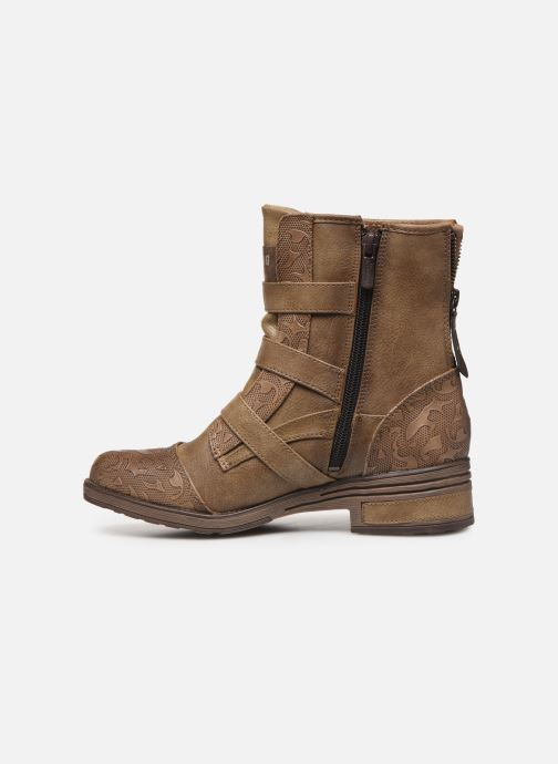 Boots en enkellaarsjes Mustang shoes Lusim Bruin voorkant