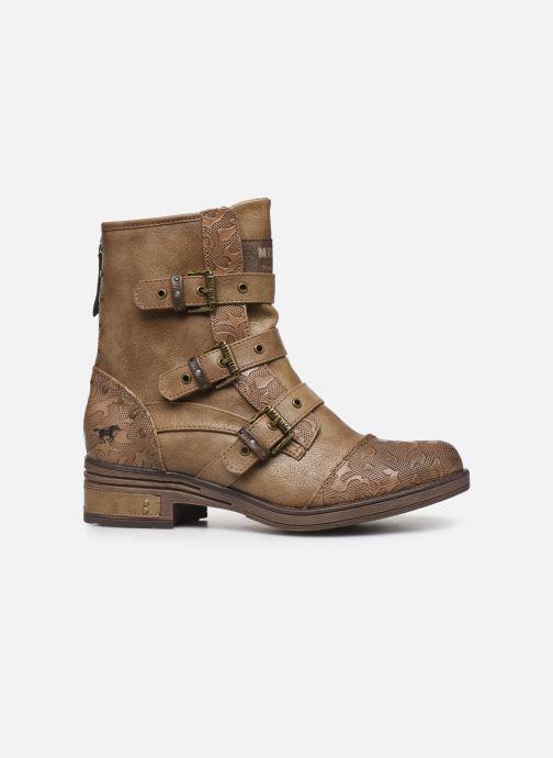Boots en enkellaarsjes Mustang shoes Lusim Bruin achterkant