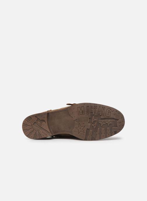 Bottines et boots Mustang shoes Lusim Marron vue haut