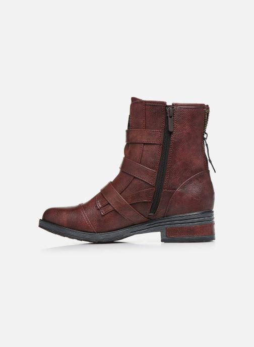 Bottines et boots Mustang shoes Lusim Bordeaux vue face