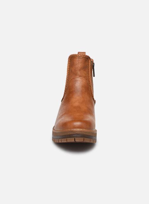 Bottines et boots Mustang shoes Nol Marron vue portées chaussures